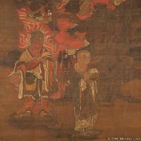 (1)佛画残片佛画图片佛教宗教图片