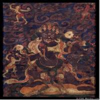 (6)唐卡世间保护-佛教-佛画佛教图片