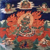 (1)唐卡世间保护-佛教-佛画佛教图片