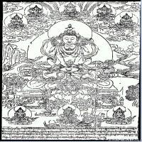 (2)唐卡線稿佛畫佛像佛教圖片