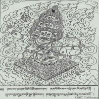 (1)唐卡线稿佛画佛像佛教图片