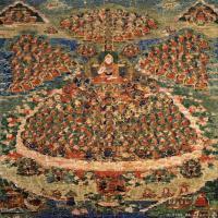 (19)古代唐卡佛教唐卡佛教神图片