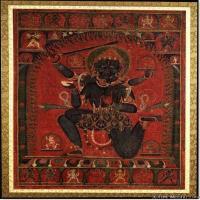 (3)佛像老唐卡-佛画-佛教-神像图片