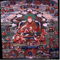 (16)古代唐卡佛教唐卡佛教神图片