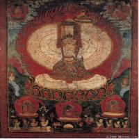 (4)佛像老唐卡-佛画-佛教-神像图片