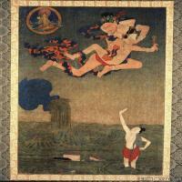 (8)古代唐卡佛教唐卡佛教神图片