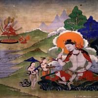 (1)唐卡印度娴熟-悉达-佛画佛教图片