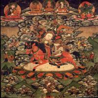 (21)古代唐卡佛教唐卡佛教神图片