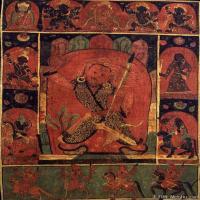 (8)唐卡世间保护-佛教-佛画佛教图片