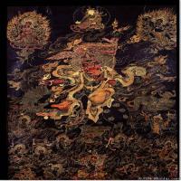 (3)唐卡世间保护-佛教-佛画佛教图片