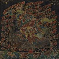 (4)唐卡世间保护-佛教-佛画佛教图片