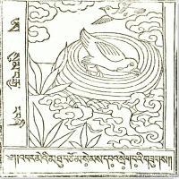 (2)唐卡艺术家笔记线稿般若波罗密多集佛画佛像佛教图片