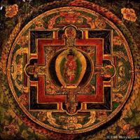 (22)古代唐卡佛教唐卡佛教神图片