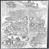 (5)唐卡线稿佛画佛像佛教图片