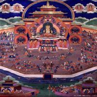(28)古代唐卡佛教唐卡佛教神图片