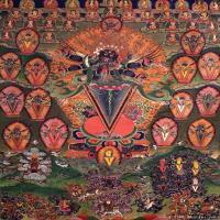 (29)古代唐卡佛教唐卡佛教神图片