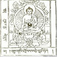 (4)唐卡艺术家笔记线稿般若波罗密多集佛画佛像佛教图片