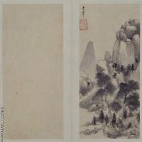 董其昌山水圖冊北京故宮館藏