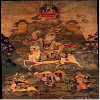 (2)唐卡世间保护-佛教-佛画佛教图片
