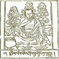 (1)唐卡艺术家笔记线稿般若波罗密多集佛画佛像佛教图片