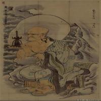 佛画-【版本2】十六罗汉图佛教宗教佛像图片