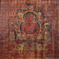 唐卡(1)阿弥陀佛-佛教-佛画-神像图片