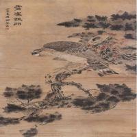 清代畫家闕嵐花鳥繪畫作品