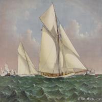 风景插画(6)交通船只图片海景插画图片