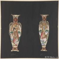 插画静物(6)静物器具图片插画陶瓷器具图片