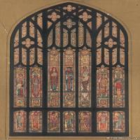 插画窗花(1)宗教窗花插画图案