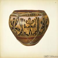 插画静物(2)静物器具图片插画陶瓷器具图片