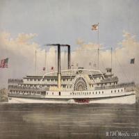 风景插画(4)交通船只图片海景插画图片