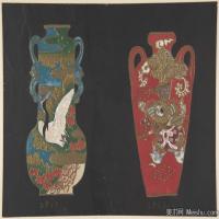 插画静物(5)静物器具图片插画陶瓷器具图片