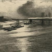 风景插画(11)交通船只图片海景插画图片
