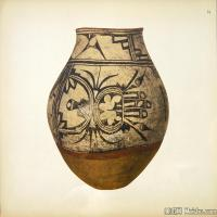 插画静物(3)静物器具图片插画陶瓷器具图片