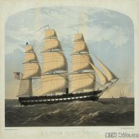 风景插画(1)交通船只图片海景插画图片