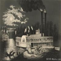 风景插画(5)交通船只图片海景插画图片