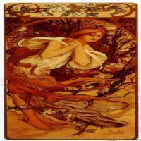 (9)慕夏Alphonse Mucha插画作品