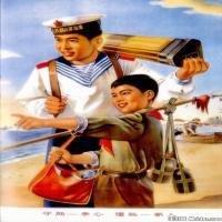 红色经典(8)民俗画作品图片