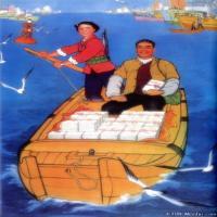 红色经典(3)民俗画作品图片