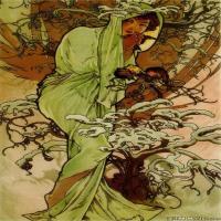 (5)慕夏Alphonse Mucha插画作品