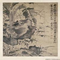 明代书画家徐渭古画绘画作品