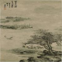 明代畫家袁尚統古畫作品