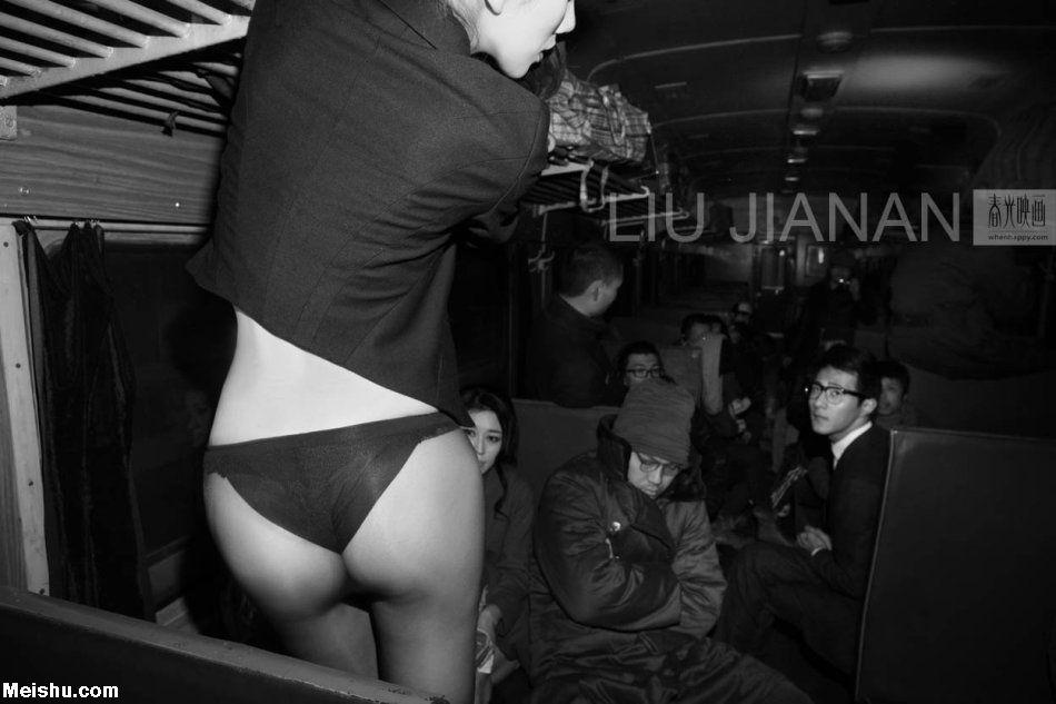 春运性感的时尚大片-刘嘉楠摄影