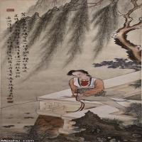 马啸天水墨作品集(3)-人物画集2