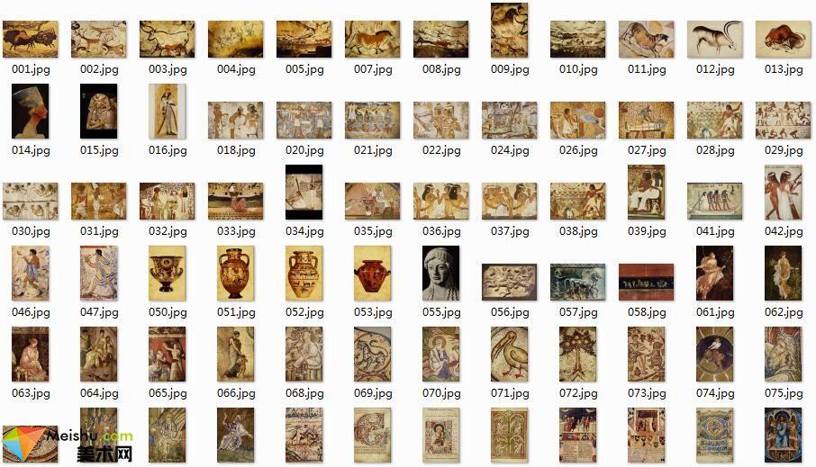 美术网FX060-世界传世名雕及壁画图片-雕塑图库质量不高-203张