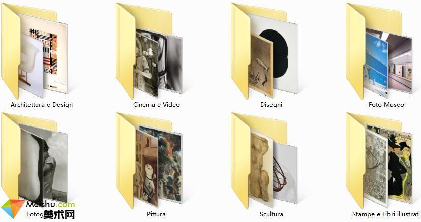 美术网FX053-[纽约现代艺术馆展品图片集]质量较低,适合做学习资料-554张-14MB