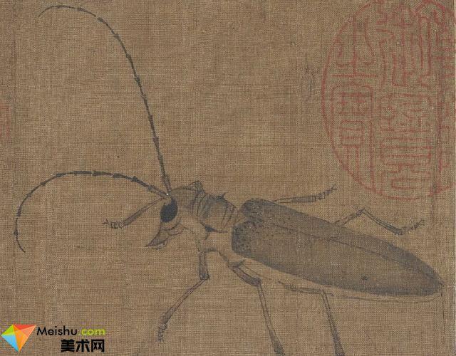 中国工笔画鼻祖,五代黄筌作品赏析