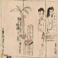 陈丹青评价朱新建超越了古人的春宫画