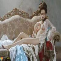 俄罗斯女画家玛丽娜.Marina唯美女性人体写实油画欣赏